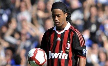 Ronaldinho lining up Man City transfer after Milan talks stall