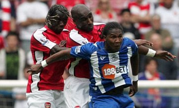 Hugo Rodallega to snub Arsenal to keep starting for Wigan