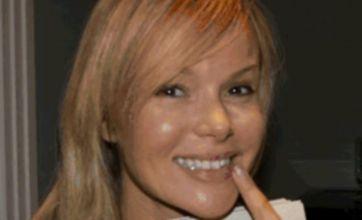 Amanda Holden denies lip surgery on Twitter
