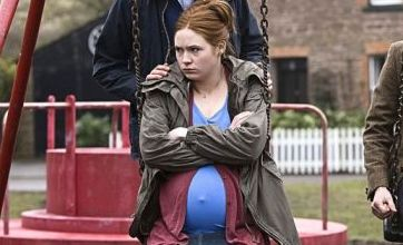 Doctor Who's Karen Gillan in baby bump mystery