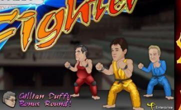 Downing Street Fighter: The best thing since chocolate gingerbread men?