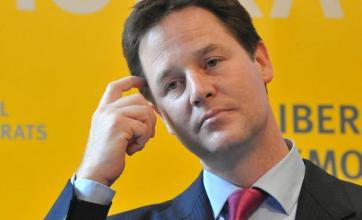 Clegg rules out backing Tory cuts
