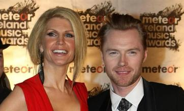 Ronan Keating received 'sex texts' from dancer