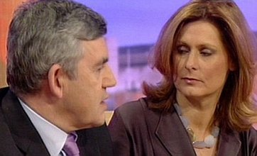General Election 2010: Gordon Brown praises wife on TV