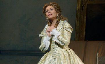 La Traviata plays at the Royal Opera House