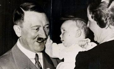 Hitler's Nazi gift to baby goes on sale