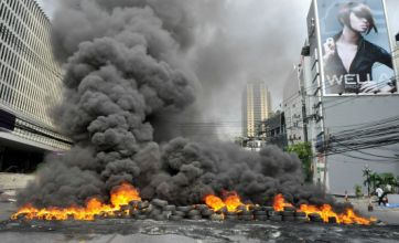 Four dead in Red Shirt protests as Bangkok burns