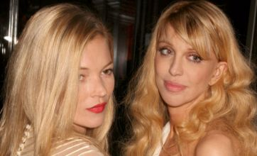 Courtney Love claims 'lesbian fling' with Kate Moss
