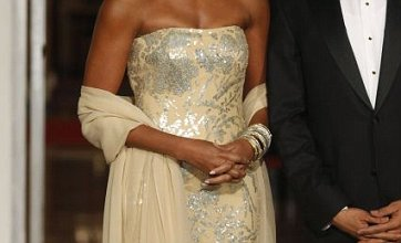 'Nude' Michelle Obama dress causes race controversy after state dinner
