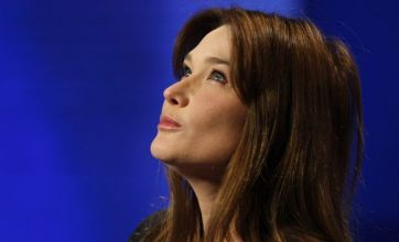 Carla Bruni's 'breasts and anal sex' video embarrassment