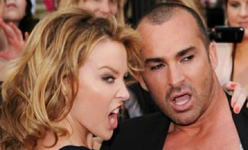 Louie Spence bares all at Sex and the City 2 premiere with Kylie Minogue