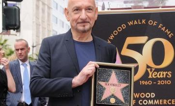 Sir Ben Kingsley on Walk of Fame