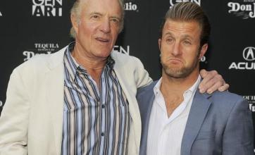 Caan feels the heat acting with son