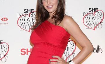 Model Danielle blooming at awards