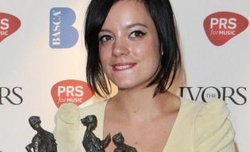 Lily's tears over Novello Awards