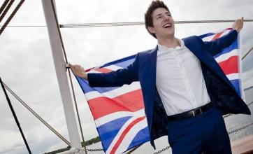 Teenager carries UK Eurovision hope