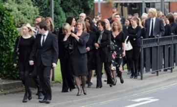 Cumbria shooting: Hundreds pay last respects to Kevin Commons