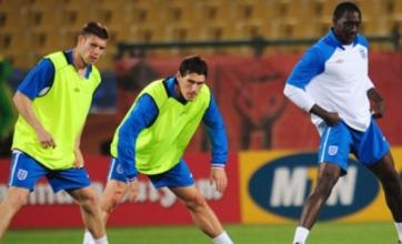 Gareth Barry fit for bench duty in England v USA World Cup clash