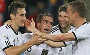 Germany had plenty of opportunities to celebrate against Australia (Allstar)