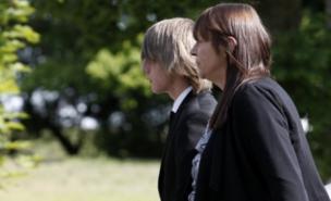 Derrick Bird's ex-partner Linda Mills attended his funeral (PA)