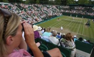 Wimbledon arrests are unusual (PA)