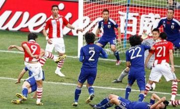 Japan pay penalty as Paraguay reach last-eight