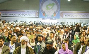 Taliban attack Afghanistan peace conference opened by Hamid Karzai