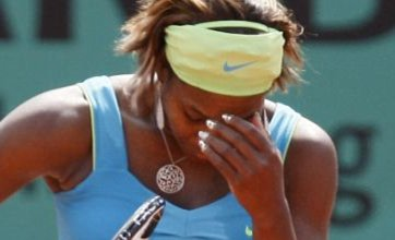 Serena Williams knocked out of French Open by Samantha Stosur