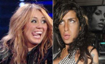 Miley Cyrus v Amy Winehouse: Celebrity Face Off