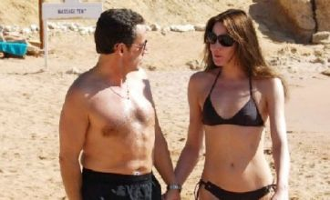 Bikini-clad Carla Bruni insists on private beach with Sarkozy
