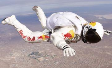 Felix Baumgartner prepares to make a giant leap for mankind