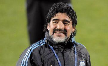 Diego Maradona dismisses Franz Beckenbauer comparisons