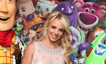 Britney Spears gets a buzz from Toy Story 3 premiere