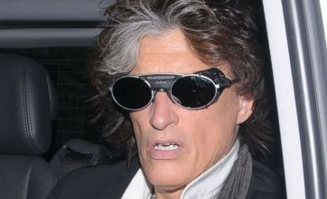 Aerosmith guitarist Joe Perry shows his space-age in retro glasses