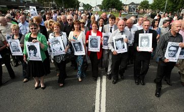 Bloody Sunday victims' relatives declare innocence in Londonderry