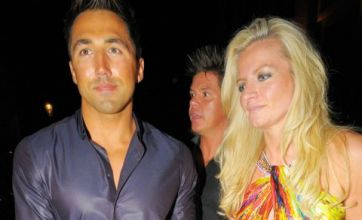 Gavin Henson steps out with sexy underwear boss Michelle Mone