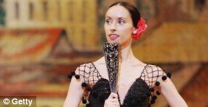 Natalia Osipova performing in the Bolshoi Ballet's production of Don Quixote