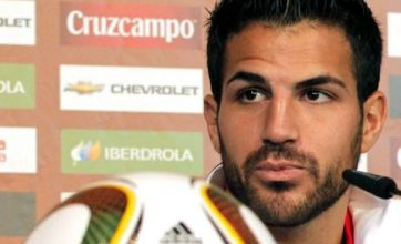 Barcelona chief: Arsenal will give up on Cesc Fabregas