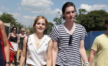 Emma Watson steps out with new boyfriend George Craig at Glastonbury