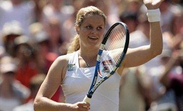 Kim Clijsters beats Justine Henin to make Wimbledon quarter-finals