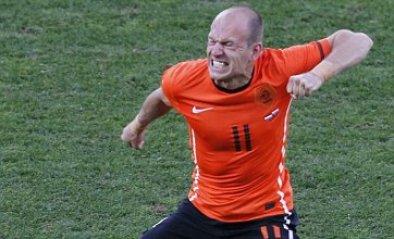 Arjen Robben strikes as Netherlands defeat Slovakia