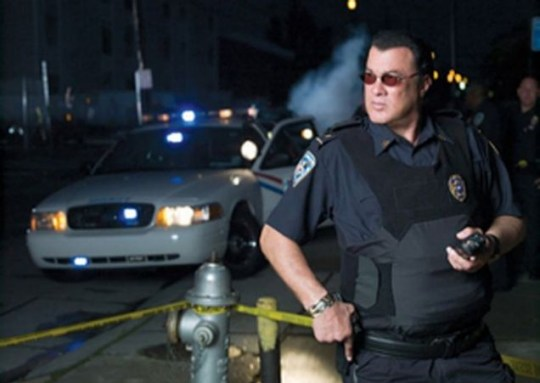 Steven Seagal: Cop a load of the actor on patrol