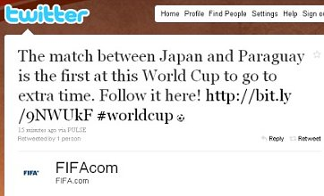 Japan v Paraguay is first World Cup match into extra time… except it's not
