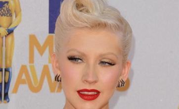 Christina Aguilera admires Gaga
