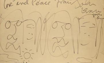 Lennon cartoon fetches £35,000