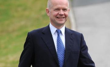 Hague vow over UK-Europe influence