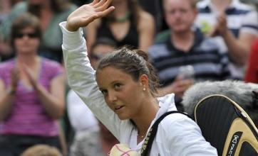 Robson dreams of Wimbledon title