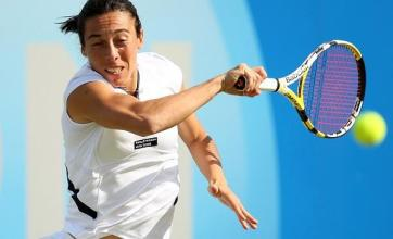 Dementieva retirement puts Schiavone into final