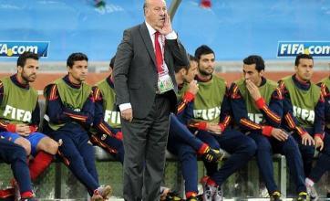 Del Bosque unhappy after defeat