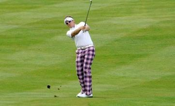 Poulter pleased with 'solid' round